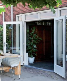 The Advantages of French Doors and Installation Tips – Home Dcorz The Doors, Types Of Doors, Windows And Doors, Outdoor Paint Colors, Build Your House, Happy House, House Extensions, Back Patio, Design Your Home