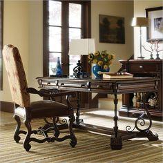 Costa del Sol - Affari Privi Business Table in Cordova - 971-18-03 - desk - home office - Stanley Furniture