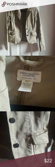 American Eagle Outfitters Jacket Absolutely beautiful Jacket from AE 96%Cotton 4% Spandex American Eagle Outfitters Jackets & Coats