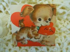 1940's Vintage Valentine by the Hall Brothers aka Hallmark