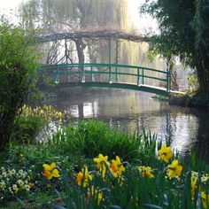 Ride through the rolling Normandy countryside to the charming village of Giverny and Monet's gardens. Description from parisinsidersguide.com. I searched for this on bing.com/images