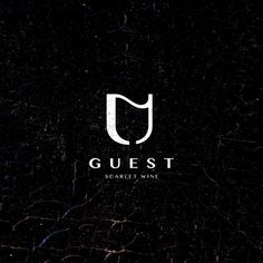 Guest Wine by Berin Hasi @berinhasi - LEARN LOGO DESIGN 👇👇 @learnlogodesign @learnlogodesign - Want to be featured next? Follow us and tag #logoinspirations in your post