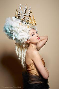 Unda Aestus Art Wig by SweetHayseed on Etsy