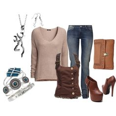 """""""Fall Fashion 13"""" by sara-dalla-torre on Polyvore....i would have to choose different shoes though"""