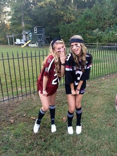 Sports Day Outfit Ideas Picture 49 trendy sport day outfit spirit week football sport in Sports Day Outfit Ideas. Here is Sports Day Outfit Ideas Picture for you. Sports Day Outfit Ideas how to wear sport outfits with zaful skirts chicisim. Football Halloween Costume, Cute Group Halloween Costumes, Halloween Costumes For Teens Girls, Trendy Halloween, Cute Costumes, Halloween Outfits, Diy Halloween, Football Player Costume, Teen Costumes