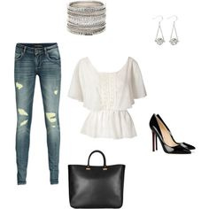 My several thousand dollar outfit, created by angiewdm on Polyvore