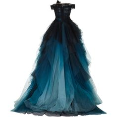 Off the Shoulder Ball Gown Off Shoulder Evening Gown, Off Shoulder Ball Gown, Off Shoulder Dresses, Shoulder Tops, Blue Ball Gowns, Blue Evening Dresses, Blue Gown, Goth Dress, Glamorous Dresses