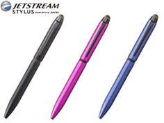 ジェットストリーム スタイラス 3色ボールペン&タッチペン