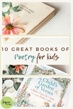 10 Great Poetry Books for Kids