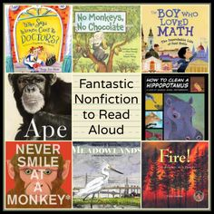 Fantastic Nonfiction to read aloud Part 2 The importance of the nonfiction read aloud There's a Book for That #nonfiction #picturebooks