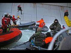 Gazprom's security sidekicks threaten protestors with guns