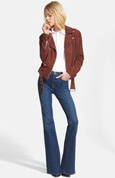 Veda Jacket, Current/Elliott Shirt & Frame Denim Jeans