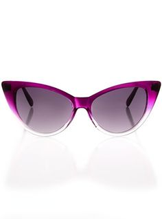 e22223d30a5 Grape Ombre Cateye Sunglasses -  10 at ShopPlasticland.com Cat Eye Frames