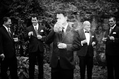 groomsmen with cigars - Google Search
