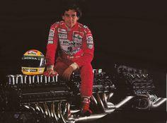 Ayrton Senna - Honda Motors