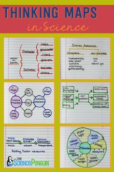 Using the 8 Thinking Maps in Science: Examples and Pics