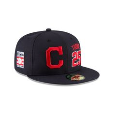 Welcome one of the all-time Indians greats to Cooperstown with the Jim  Thome Hall of Fame 59FIFTY Fitted Cap! The cap features an embroidered  Thome logo at ... 6a2e0c974