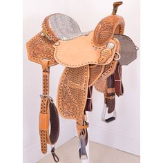 "14.5"" Marlene McRae Special EFFX by Reinsman Barrel Racing Saddle http://shop.coolhorse.com/store/product/4242-245WX-05"