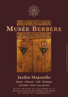 Jardin Marjorelle Musee Berbere