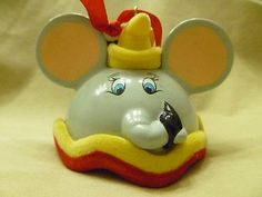 Disney Parks New Dumbo Mickey Mouse Ear Hat Ornament Limited Edition | eBay