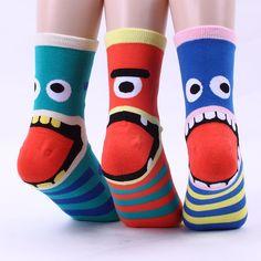 $9.9 AUD - Monster Tongue 4Pairs(4Colors)=1Pack Woman Women S Girl Big Kid S Socks[Aufgtc] #ebay #Fashion