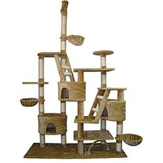 @Overstock - This cat condo is great place for your cat to live a scratch. This pet condo features a  two ladders and three houses.http://www.overstock.com/Pet-Supplies/GoPetClub-Huge-Gym-Cat-Tree-Condo/5538700/product.html?CID=214117 $229.99