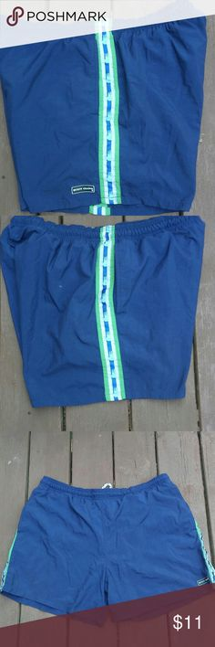 Vintage Swim Trunks Size 34 Vintage well loved Body Glove Size 34 swim trunks  There are 2 tiny paint stains on the back of the swim trunks.  Lightning Speed Shipping ( Ships within 24-48Hrs.)  ALL ITEMS ARE SOLD AS IS,NO REFUNDS OR RETURNS   Thanks for looking.Let me know if you have any questions:-) Body Glove Swim Swim Trunks