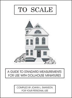 DYI DOLLHOUSE MINIATURES - measurements