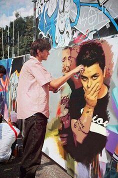 Green Day street art
