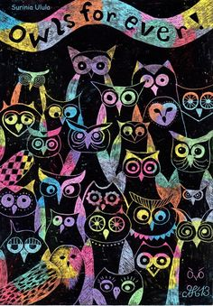 'Owls Forever' by Surinia Ulula