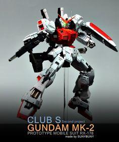 [RG] RX-178 GUNDAM MK-2 (A.E.U.G)   Make by SUNYBUNY