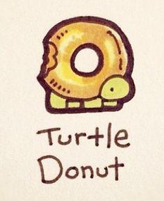 Donut turtle