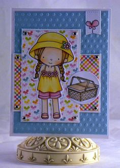 Loves Rubberstamps Blog: Every Day is a Picnic - Birdie Brown MFT Stamps