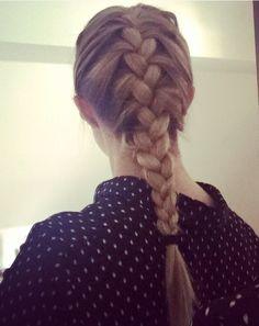 braided hair long - braids