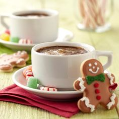Warm up with a homemade Gingerbread Latte made with Wilton Limited Edition Gingerbread Candy Melts® Candy.