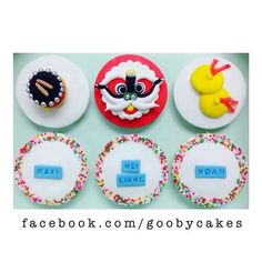 China Fondant Cupcakes, Sugar, China, Cookies, Desserts, Food, Decorated Cookies, Crack Crackers, Tailgate Desserts