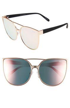 Quay Australia Quay Australia Sorority Princess 60mm Cat Eye Sunglasses available at #Nordstrom