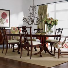 Lots of Luxe Dining Room | Ethan Allen