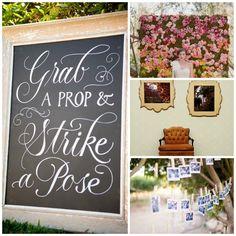 Unique Wedding Photobooth Ideas