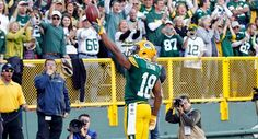 Randall Cobb has a gift. A Packers win.