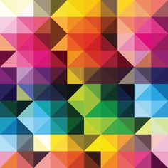 Awesome pattern blended with colours.