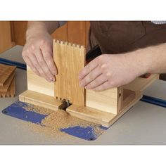 Box-Joint Jig Woodworking Plan from WOOD Magazine