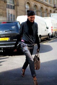 Giovanna Battaglia style icon