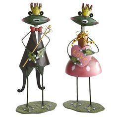 Pier 1 Imports Frog Prince & Princess
