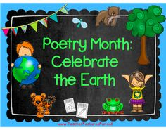 (Grades 1-3) A fantastic combination of 20 poetry frames and nature themes and a great way to celebrate Poetry Month and Earth Day in April (or anytime of year). Use this pack in a Literacy Center, Morning Seat work, you can use one poetry frame per week or a poetry frame every school day in April. All Poetry Frames are ready to go- just print and use! No prep, just print and use. (26 pages)