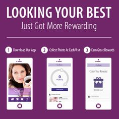 Download our App from Southeast MedSpa Great way to get special offers and earn reward points to be redeemed on FREE services