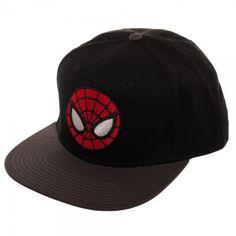 850ed30e757 Ultimate Spiderman Black Snapback