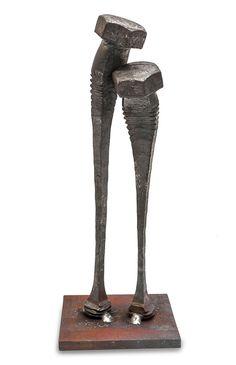 """Scultura della collezione""""Bolt Poetry"""" diTobbe Malm n.08"""