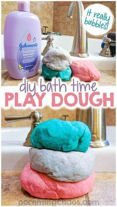 diy soap DIY Playdough Soap Recipe via walmart - Fun Crafts For Kids, Baby Crafts, Toddler Crafts, Projects For Kids, Diy For Kids, Kids Fun, Diy Gifts For Kids, Kid Crafts, Diy Projects