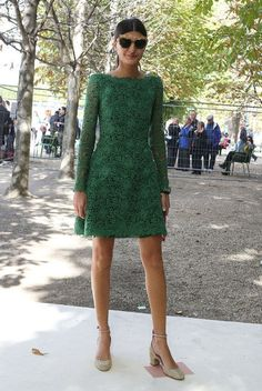 Giovanna Battaglia: Paris Fashion Week Spring 2013 (ultimate Italian style)